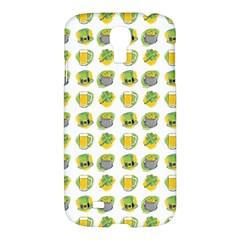 St Patrick S Day Background Symbols Samsung Galaxy S4 I9500/i9505 Hardshell Case by BangZart