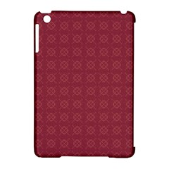 Purple Pattern Background Texture Apple Ipad Mini Hardshell Case (compatible With Smart Cover) by BangZart