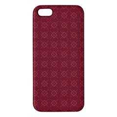 Purple Pattern Background Texture Iphone 5s/ Se Premium Hardshell Case by BangZart