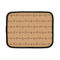 Brown Pattern Background Texture Netbook Case (small)  by BangZart