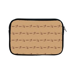 Brown Pattern Background Texture Apple Ipad Mini Zipper Cases by BangZart