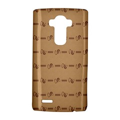 Brown Pattern Background Texture Lg G4 Hardshell Case by BangZart