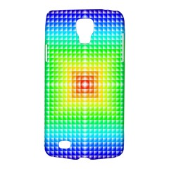 Square Rainbow Pattern Box Galaxy S4 Active by BangZart