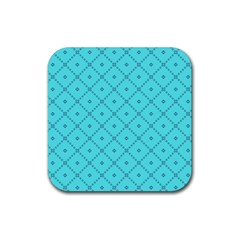 Pattern Background Texture Rubber Coaster (square)  by BangZart