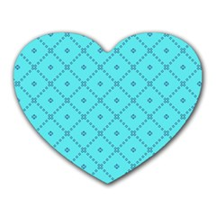 Pattern Background Texture Heart Mousepads by BangZart