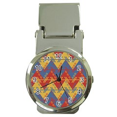 Aztec South American Pattern Zig Money Clip Watches by BangZart