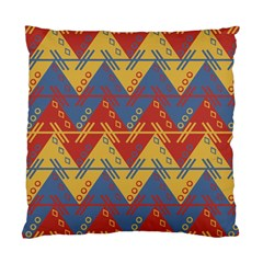 Aztec South American Pattern Zig Standard Cushion Case (one Side) by BangZart