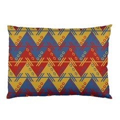 Aztec South American Pattern Zig Pillow Case by BangZart