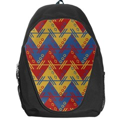 Aztec South American Pattern Zig Backpack Bag by BangZart