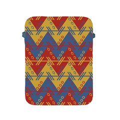 Aztec South American Pattern Zig Apple Ipad 2/3/4 Protective Soft Cases by BangZart