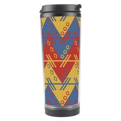 Aztec South American Pattern Zig Travel Tumbler by BangZart