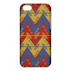 Aztec South American Pattern Zig Apple Iphone 5c Hardshell Case by BangZart