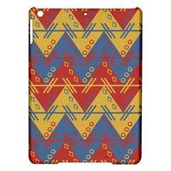 Aztec South American Pattern Zig Ipad Air Hardshell Cases by BangZart