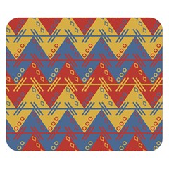 Aztec South American Pattern Zig Double Sided Flano Blanket (small)  by BangZart