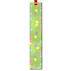 Balloon Grass Party Green Purple Large Book Marks by BangZart
