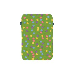 Balloon Grass Party Green Purple Apple Ipad Mini Protective Soft Cases by BangZart
