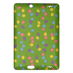 Balloon Grass Party Green Purple Amazon Kindle Fire Hd (2013) Hardshell Case by BangZart