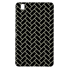 Brick2 Black Marble & Beige Linen Samsung Galaxy Tab Pro 8 4 Hardshell Case by trendistuff