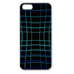 Abstract Adobe Photoshop Background Beautiful Apple Seamless Iphone 5 Case (clear) by BangZart