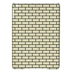 Brick1 Black Marble & Beige Linen (r) Ipad Air Hardshell Cases by trendistuff