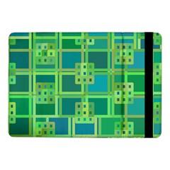Green Abstract Geometric Samsung Galaxy Tab Pro 10 1  Flip Case by BangZart