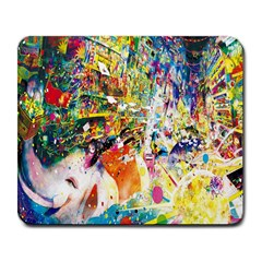 Multicolor Anime Colors Colorful Large Mousepads by BangZart