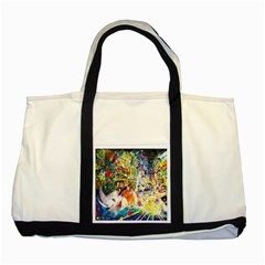 Multicolor Anime Colors Colorful Two Tone Tote Bag by BangZart