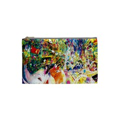 Multicolor Anime Colors Colorful Cosmetic Bag (small)  by BangZart