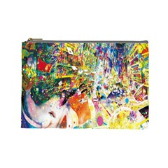 Multicolor Anime Colors Colorful Cosmetic Bag (large)  by BangZart