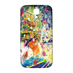 Multicolor Anime Colors Colorful Samsung Galaxy S4 I9500/i9505  Hardshell Back Case by BangZart