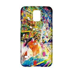 Multicolor Anime Colors Colorful Samsung Galaxy S5 Hardshell Case  by BangZart