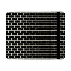 Brick1 Black Marble & Beige Linen Samsung Galaxy Tab Pro 8 4  Flip Case by trendistuff