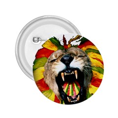 Reggae Lion 2 25  Buttons by BangZart