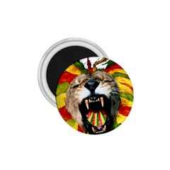 Reggae Lion 1 75  Magnets by BangZart