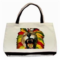 Reggae Lion Basic Tote Bag by BangZart