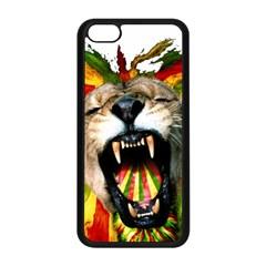 Reggae Lion Apple Iphone 5c Seamless Case (black) by BangZart