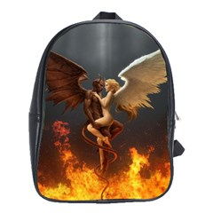 Angels Wings Curious Hell Heaven School Bags(large)  by BangZart