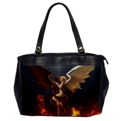 Angels Wings Curious Hell Heaven Office Handbags by BangZart