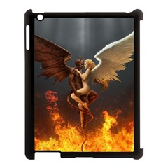 Angels Wings Curious Hell Heaven Apple Ipad 3/4 Case (black) by BangZart