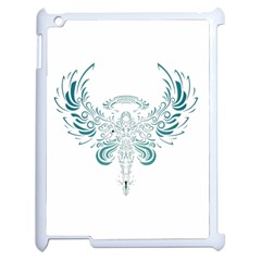 Angel Tribal Art Apple Ipad 2 Case (white) by BangZart