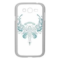 Angel Tribal Art Samsung Galaxy Grand Duos I9082 Case (white) by BangZart
