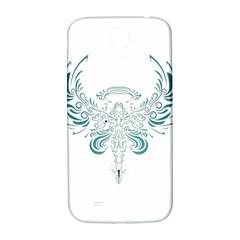 Angel Tribal Art Samsung Galaxy S4 I9500/i9505  Hardshell Back Case by BangZart
