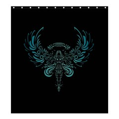 Angel Tribal Art Shower Curtain 66  X 72  (large)  by BangZart