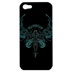 Angel Tribal Art Apple Iphone 5 Hardshell Case by BangZart