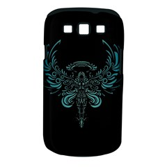 Angel Tribal Art Samsung Galaxy S Iii Classic Hardshell Case (pc+silicone) by BangZart