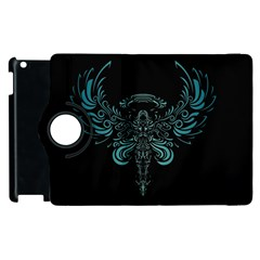 Angel Tribal Art Apple Ipad 2 Flip 360 Case by BangZart