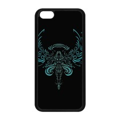Angel Tribal Art Apple Iphone 5c Seamless Case (black) by BangZart