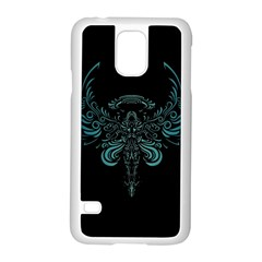 Angel Tribal Art Samsung Galaxy S5 Case (white) by BangZart