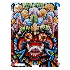 Wood Sculpture Bali Logo Apple Ipad 3/4 Hardshell Case (compatible With Smart Cover) by BangZart