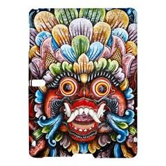 Wood Sculpture Bali Logo Samsung Galaxy Tab S (10 5 ) Hardshell Case  by BangZart
